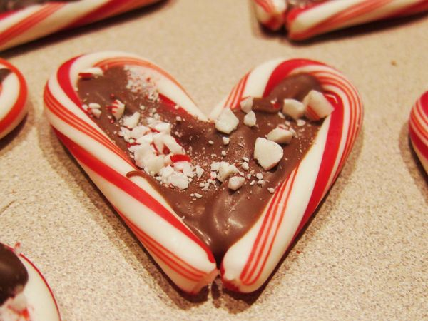 In his grip candy cane hearts