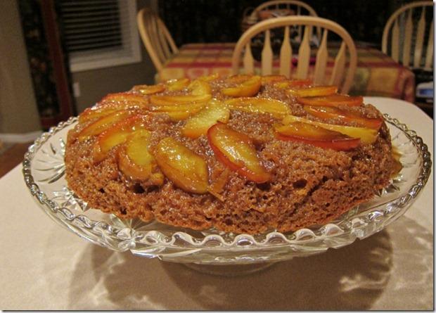 Caramel Apple Skillet Cake